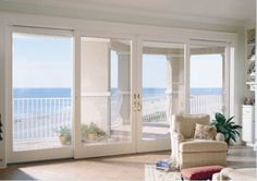 Easi Slide Op1 White Shaker 1 Pane Sliding Door System In