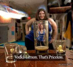 Vodka lemon diet...