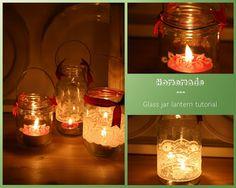 Sew a little love: Homemade Lantern Tutorial