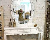 Painted Cottage Chic Shabby Romantic Vanity VAN382