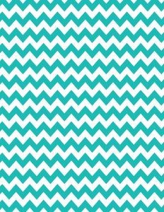 Turquoise chevron background - 15 colors available - free instant download.
