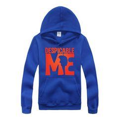 Despicable Me Minions Captain America logo hoodie sweatshirt