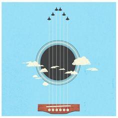 sky guitar