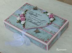 Altered box for chocolates