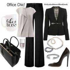 Pretty black suit