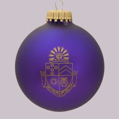 Delta Tau Delta Fraternity Greek Crest Holiday Ball Ornament available in Good Things From Louisiana, an ebay store.