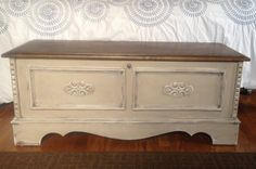 Vintage Cedar Chest/Trunk/Hope Chest/coffee by TheOpenedCocoon