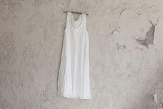linen - white / black . s m l Tank Dress, Shades, Colour, Black, Dresses, Gowns, Black People, Color, Dress
