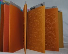 """To form the pockets I took a piece of 12 x 12 cardstock and cut it in half. I scored the half at 5 1/2"""" and ran that section through my Big Shot with the Cuttlebug folder. Next I used Scor Tape to adhere the bottom of the folder and the side to form a pocket. This left about 1"""" of cardstock on the other side and hat is where I punched the holes for the binding. The cover was made with chipboard cut 6 1/4"""" x 6 1/4"""" (those are the measurements for the version 3) and was just covered with…"""