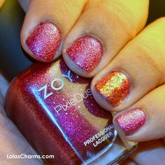 Lola's Charms: 12 Days Of Christmas Nails: Day 11