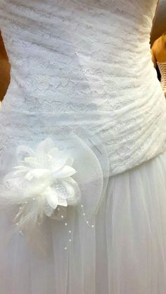 Wedding dress asymetrical corset drape with tulle and lace by Gabardine Corset, I Shop, Tulle, Wedding Dresses, Lace, Gowns, Bride Dresses, Bridal Wedding Dresses, Tutu