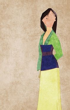 Mulan inspired design.