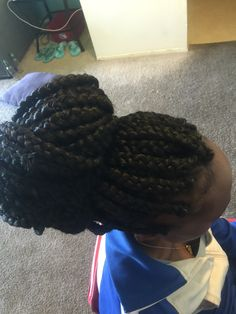 Crochet Braids Using Rubber Bands : Jumbo box braids Locs, Twists, Braids Pinterest What You See ...