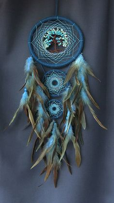 Dream catcher Dreamcatcher ocean dreamcatcher Indian talisman