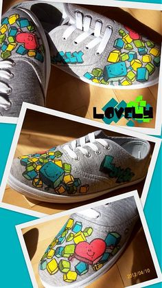 LOVELYart / Cube Slip On, Heart, Sneakers, Shoes, Fashion, Tennis Sneakers, Sneaker, Zapatos, Shoes Outlet