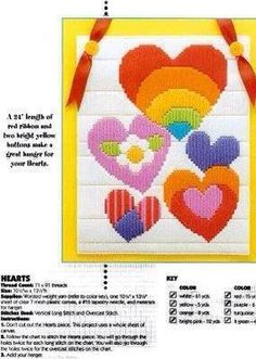 HEART WALL HANGING 1/2