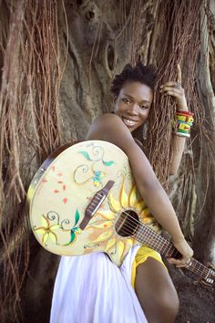 Wonderful artist India.Arie! Her songs and lyrics are an inspiration for everybody. She gives a new twist on your boring days (: