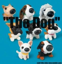 Cuteee. Big head little body dogs. I loved these