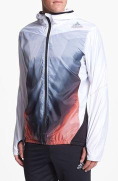 adidas 'adiZero' Hooded Track Jacket