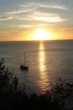 St Lucia - Caribbean Sunset by Alex Hopkins, via Flickr