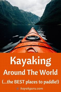 Where are the Best Places to Kayak in the World? Here's our shortlist of awesome apddling spots: Greek Islands Scotland New Zealand Norway Vietnam Kayak Camping, Camping And Hiking, Kayak For Beginners, Nature Sounds, Adventure Activities, Amazing Adventures, Outdoor Adventures, Greek Islands, Travel Advice