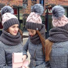 inspiration color of knit hat