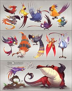 Birds of a Feather by *CreatureBox