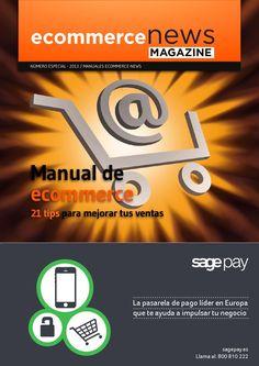 Manual eCommerce: 21 aspectos clave para mejorar las ventas de una tienda online.  Edita: Ecommerce News
