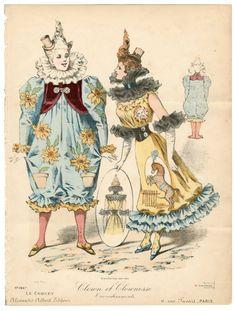 Theatre Costume 19th-20th century, Plate 024. Metropolitan Museum of Art (New York, N.Y.). Costume Institute. Costume Institute. Fashion plates, 1700-1955. Costume Institute Fashion Plates. #TheatreCostumes