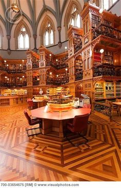 This stunning Reading Room in Library of Parliament is a bucket list located in Ottawa, Ontario | Ottawa, ON