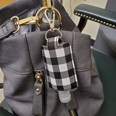 Your place to buy and sell all things handmade Louis Vuitton Speedy Bag, Louis Vuitton Damier, Thieves Essential Oil, Hand Sanitizer Holder, Bag Clips, Diy Keychain, Fabric Art, Young Living, Sewing Projects