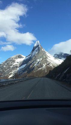 Norways national mountain. Stetind
