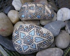 paintings on the rocks - crafts ideas - crafts for kids