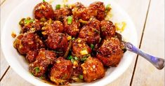 Fusion foods are enjoyed in India but one of the most popular cuisines is Indo-Chinese. Indo-Chinese cuisine is the adaptation of Chinese cooking techniques and Quick Appetizers, Appetizer Recipes, Indian Food Recipes, Healthy Recipes, Ethnic Recipes, Chinese Recipes, Chinese Food, Healthy Eats, Hyderabad