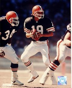 Bernie Kosar Cleveland Browns- remembering the great's of the past gives me the strength to  deal with the present.