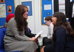 The Duchess of Cambridge visited the Anna Freud Centre back in September and was pictured ...