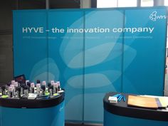 Hyve exhibition stand @ MC 2012 Salzburg, Innovation Design, Exhibitions, Conference, Community