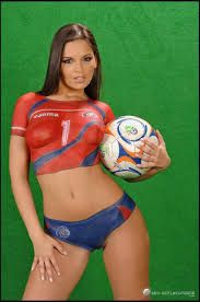 Authoritative answer Best world cup naked body paint