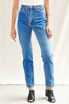 Urban Renewal Vintage Wrangler Jean - Urban Outfitters