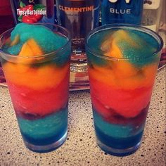 DRUNKEN VODKA POPSICLE SLUSHIE