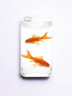 iPhone 4 Case Goldfish on Etsy, $16.99