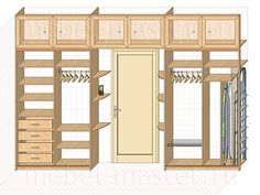 Шкаф в дверном проеме фото Small Closet Organization Bedroom, Cheap Home Decor, Home, Home Trends, Girl Bedroom Decor, Bedroom Design, Small Bedroom, Bedroom Closet Design, Wardrobe Room