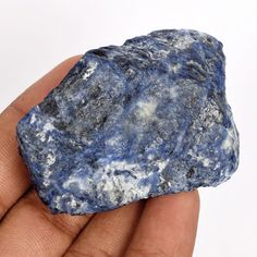 Welcome to        worldofgemsbyvijay        Product Details      Gem Type : Natural sodalite  Number of stones : 1  Total Carat Weight : 278.5Ct.  Measurements in MM :58 x 41 x 22 mm  Cut : rough  Color : blue  Clarity : As shown in the picture  Treatment(s) :none  EGL Certificate :Free  Origin :brazil    We only deal in 100% Natural Earth Mined Gemstones, & Customer satisfaction is our…