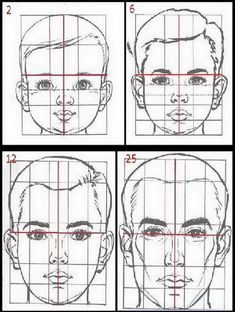 Drawing tips proportions ; drawing tips for b. Drawing Lessons, Drawing Techniques, Drawing Tips, Basic Drawing, Drawing Heads, Painting & Drawing, Drawing Faces, Pencil Art Drawings, Art Drawings Sketches