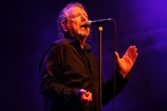 Robert Plant performs in Byron Bay, Australia.