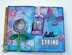 art journaling magazine | PaperHaus Magazine: Lynn brings us an amazing art journal