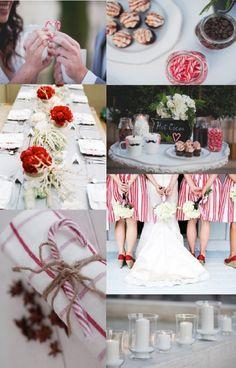 Candy Cane Wedding Inspiration