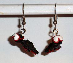 Ohrringe - Ohrringe Taucher Schmuck Ohrschmuck Edelstahl Fimo - ein Designerstück von ausgefallene-Ohrringe bei DaWanda