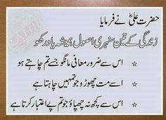 Hazrat Ali r a