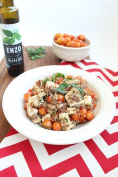 Mothers Day Lunch Side Dish: Tomato Basil Quinoa Salad